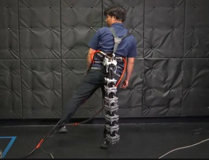 robotic tail