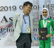 کسب مدال نقره طنابزنی در مسابقات  آسیا | اقیانوسیه توسط دختر ایرانی