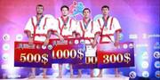 مصطفی اسکندری به نشان نقره رقابتهای آسیایی قزاق کورس دست یافت