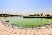 دریاچه باغ هنر با حضور شهردار تهران افتتاح شد