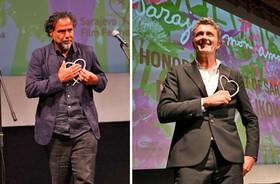 قلب طلایی سارایوو بر سینه دو فیلمساز برنده اسکار