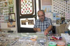 گرد فراموشی بر هنر آینهکاری قزوین