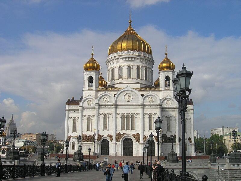 کلیسای جامع عیسی نجاتدهنده کنستانتین تون، مسکو، ۱۸۳۹–۱۸۶۰