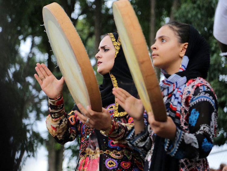 جشنواره بینالمللی دف و  نوای رحمت