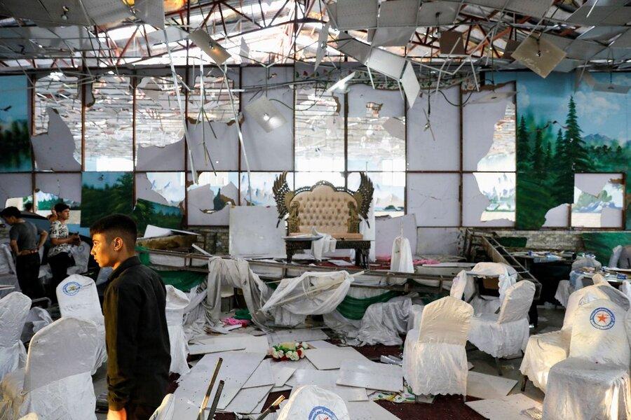 انفجار انتحاري در عروسي در افغانستان
