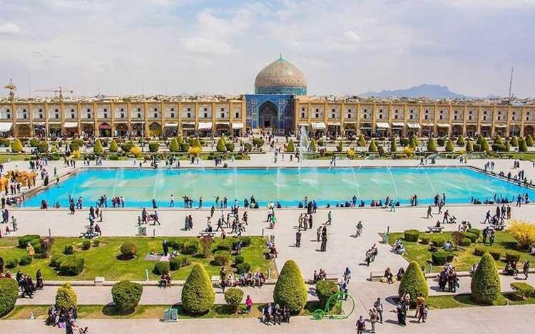 پایان یک دهه رکود در گردشگری اصفهان