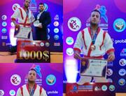 یزدانپناه به مدال برنز رقابتهای قزاق کورس قهرمانی آسیا رسید