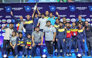 نایب قهرمانی ایران در رقابتهای کشتی فرنگی جوانان قهرمانی جهان