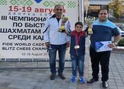 قهرمانی باراد یگانگی در شطرنج برقآسای نوجوانان جهان