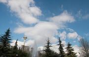 پیشبینی بارش برای شمال غرب، گرد و خاک در شرق | تهران کمی ابری