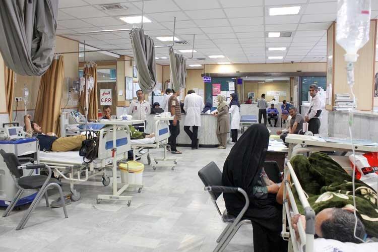 بیمارستانهای قزوین در کما