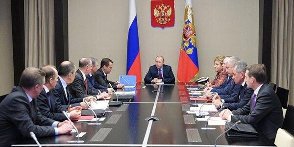 نشست شورای امنیت ملی روسيه