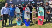 قهرمانی بانوان تهران در رقابتهای کیبل اسکی قهرمانی ایران