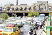 گره کور ترافیک در هسته مرکزی مشهد