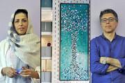 نصب درخت زندگی دو هنرمند ایرانی در لیون