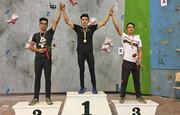 قهرمانان مسابقات سنگنوردی سرعت مردان کشور مشخص شدند
