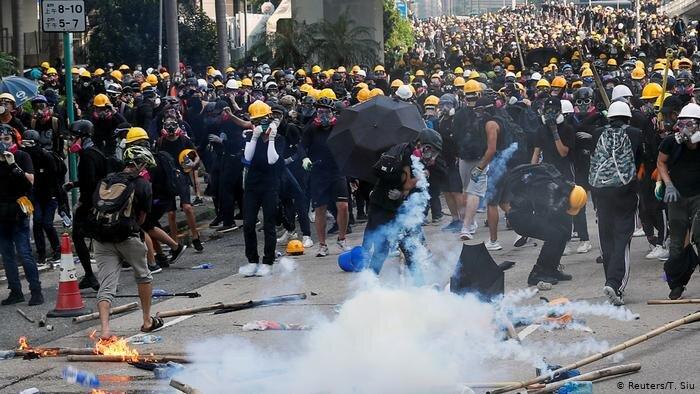 اعتراضات در هنگ كنگ
