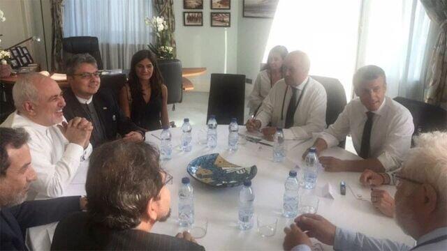 دفتر ریاست جمهوری فرانسه مذاکره با ظریف را مثبت توصیف کرد