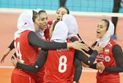 تیم والیبال بانوان ایران هفتم آسیا شد