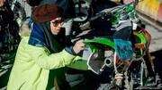 دفاع تمامقد از موتورسواری زنان