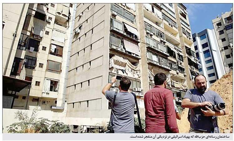 ساختمان رسانه اي حزب الله