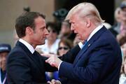مکرون: برای دیدار ترامپ و روحانی تلاش میکنیم