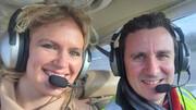 مرگ هر سه عضو یک خانواده هنرمند در سقوط هواپیما