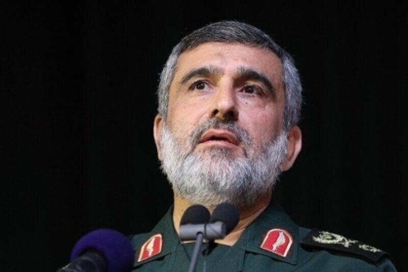 سردار حاجیزاده: سرنگونی پهپاد آمریکایی سایه جنگ را برطرف کرد