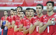 ایران در جایگاه پنجم مسابقات والیبال نوجوانان جهان قرار گرفت