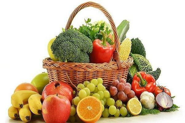 تاثير مصرف ميوه و سبريجات خام بر سلامت افراد