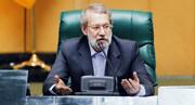 لاریجانی: سخنان حکیمانه رهبری مسیر حرکت مردم و مسئولان را مشخص کرد