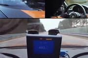 بوگاتی رکورد سرعت جهان را شکست
