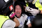 عکس روز: اشک معترض