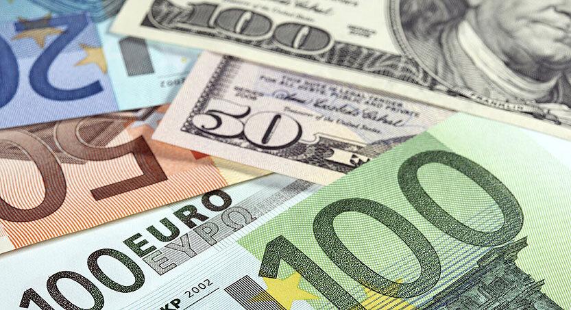 جدیدترین قیمت دلار و یورو در بازار ارز
