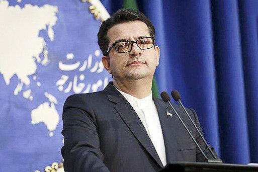 موسوی سخنگوی وزارت خارجه هوم پیج