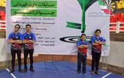 دارت قهرمانی کشور جوانان؛ پسران تهران و دختران اصفهان قهرمان شدند