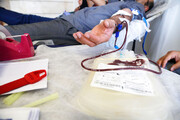 نذر خون در مرکز وصال