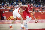 باخت تیم ملی بسکتبال ایران برابر اسپانیا