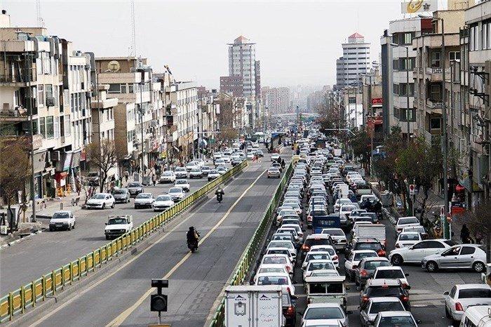 نقش خودروهای سواری تهران در تولید آلودگی هوا