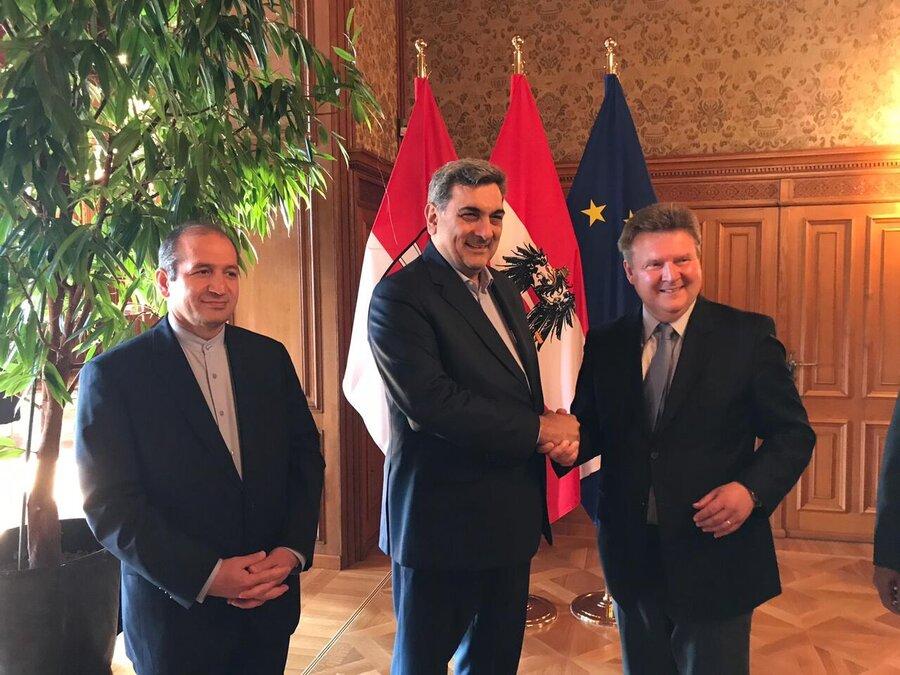 شهردار وین: تحریمها مانعی برای توسعه همکاری های شهری با تهران نیست