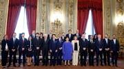 دولت جدید ایتالیا سوگند یاد کرد