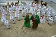 روایت غدیر تا شام با عروسکهای مینیاتوری