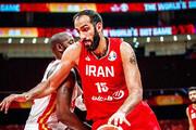 پیروزی بسکتبال ایران مقابل آنگولا