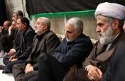 عکس | سردار سلیمانی در مراسم عزاداری بیت رهبری