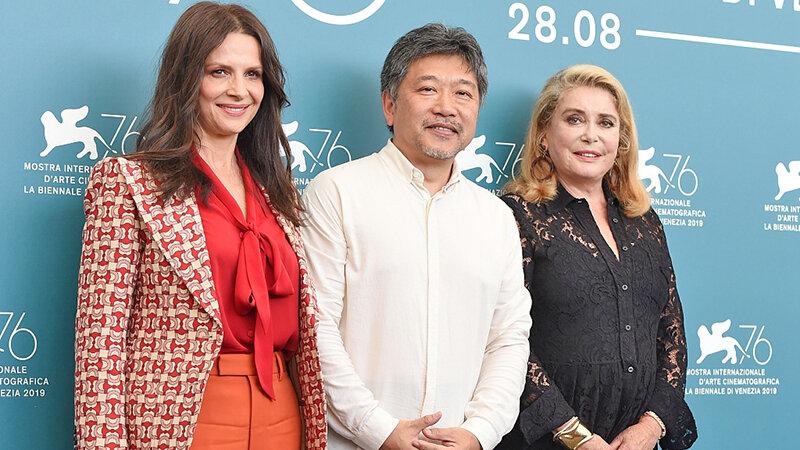 كاترين دونوو، كره-ادا و ژوليت بينوش در جشنواره ونيز 2019