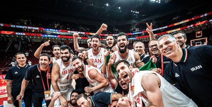 کاروان بسکتبال به تهران رسید+ عکس