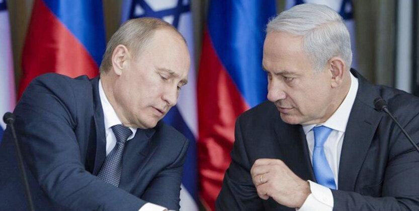 پوتین نتانیاهو 833