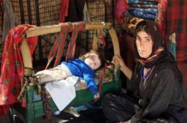 لالایی خوانی مادران کرد برای نوزادانشان