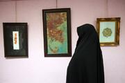 برپایی نمایشگاه خلوت خطوط در خاوران