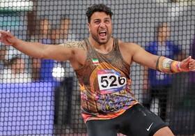المپیک توکیو | احسان حدادی به فینال نرسید | رتبه چهاردهمی پرتابگر ایران
